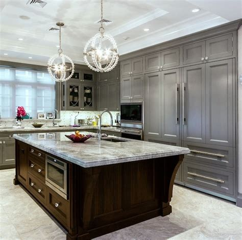 kitchens with different colored islands haminakintu inspiring kitchen cabinetry details to add to