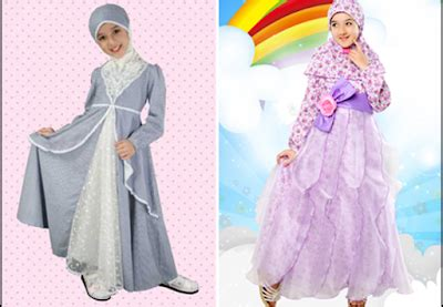Model Gamis Laki2 fashion show busana muslim anak perempuan