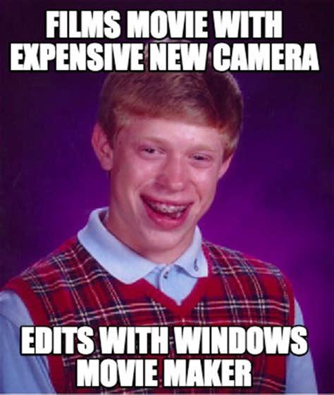 Movie Meme Generator - meme creator films movie with expensive new camera edits