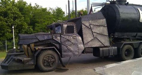 film semi zombie mad max semi truck apocalypse zombie military car