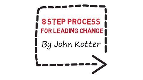 kotter change model youtube how to change management in 8 steps kotter youtube
