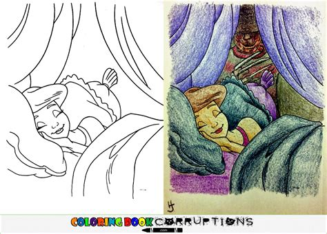 coloring book corruptions disney cbc original coloring book corruptions