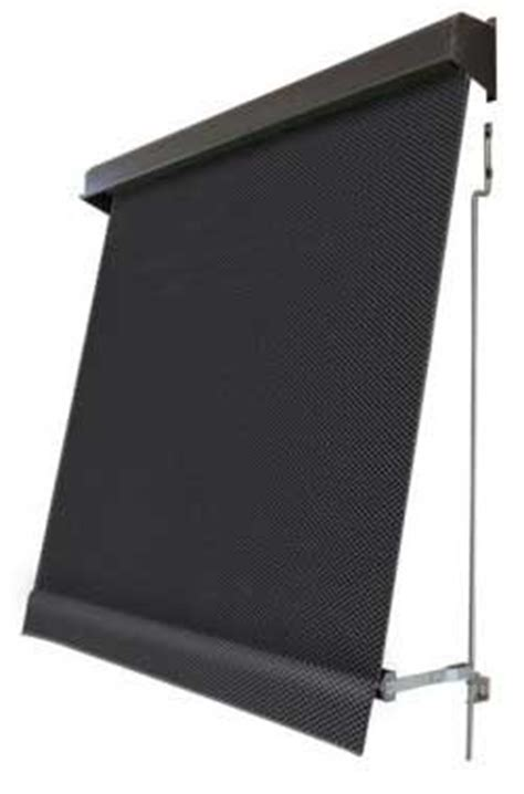 sunscreen awnings exterior roller blinds straight drop automatic awnings