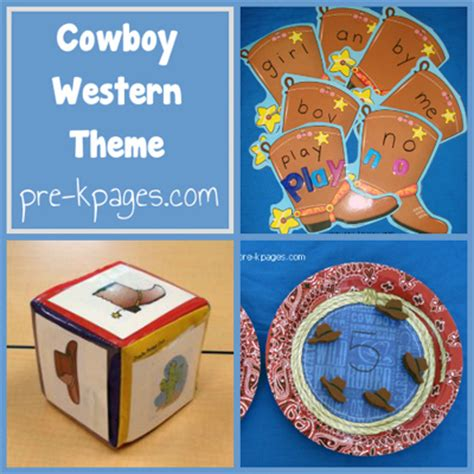themes in western literature western math activities cactus craft western theme and