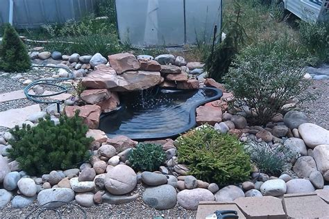 installing a backyard pond installation and service for fountain pumps yard surfer