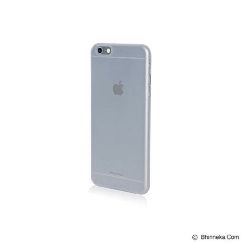Monocozzi Ultra Slim Shell For Iphone 6s White jual monocozzi lucid slim for iphone 6s white murah