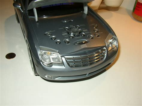 chrysler crossfire luggage new in box sharper image crossfire cd player for sale