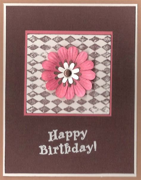 Ideas For Handmade Birthday Cards - handmade birthday cards for let s celebrate