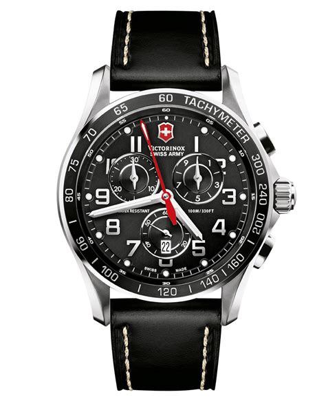 Swiss Army Leatheer by Mens Victorinox Watches