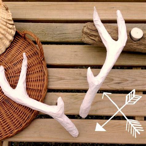 deer antlers diy diy deer antlers craft handmade
