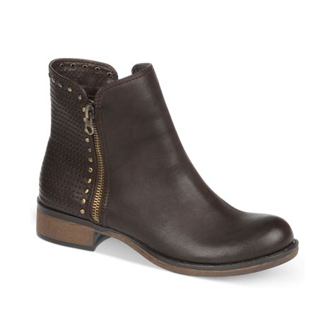 fergie boots fergie fergalicious boots embody booties in brown