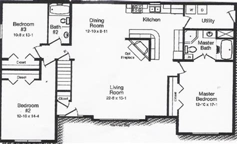 open living floor plans kitchen and dining room floor plans home deco plans