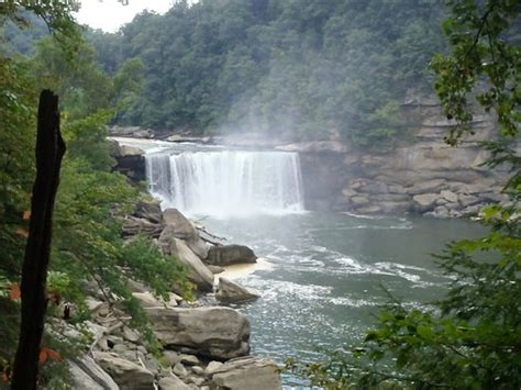 Cumberland Falls Cabins by View Of The River From The Resort Lodge Picture Of