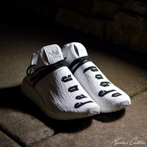 kendras customs imagines fear  god  adidas nmd collab