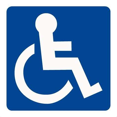 disabled wc symbol sign raymac signs