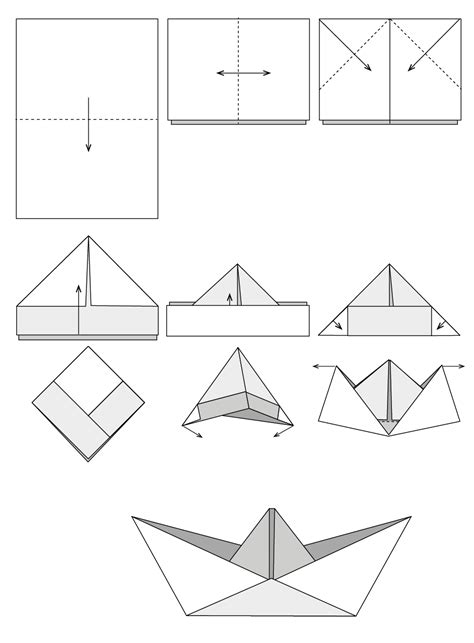 origami boat anleitung origami boot anleitung my blog