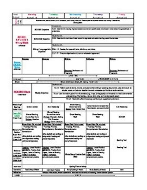 3rd grade lesson plan template 17 best images about third grade on student