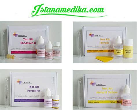 Alat Tes Kit Makanan Formalin distributor agen test makanan murah istana medika