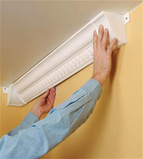 Plastic Crown Molding Add Crown Molding To Bookshelves For An Upscale Look
