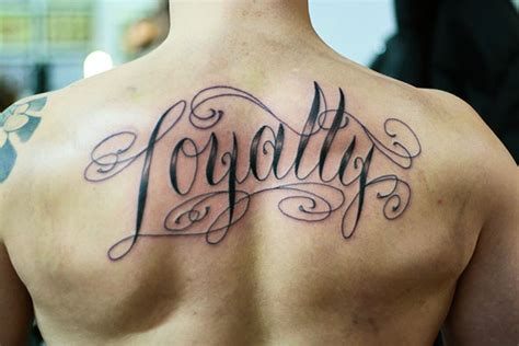 loyalty tattoo designs loyalty