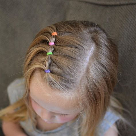 easy girls hairdo 25 best ideas about easy toddler hairstyles on pinterest