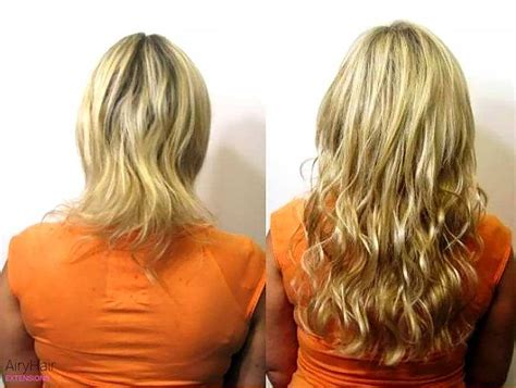 before and after pics hair extensions for short thin hair hair extensions before after images medium and short hair
