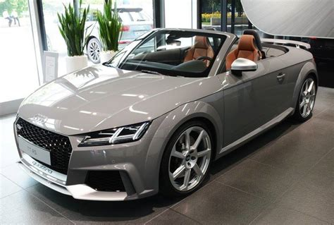 nardo grey audi tt rs roadster exclusive in nardo grey