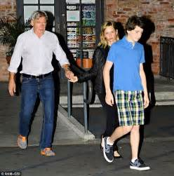 How Many Children Does Harrison Ford Calista Flockhart And Harrison Ford Www Pixshark
