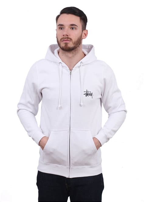 Grosir Basic Jacket Hoodie Unisex With Zipper In 16 Colour stussy basic logo zip hoody white hoodies from triads uk