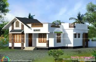 north facing vastu home single floor kerala home design