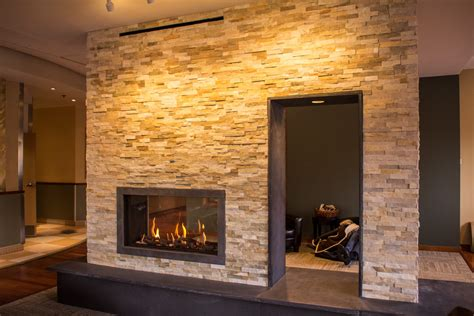 Tunnel Fireplace by Clear Tunnel 110h Fireplace Ortal Heat