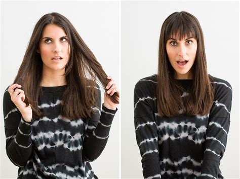 Your Guide To Bangs by The Foolproof Guide To Cutting Your Own Bangs Brit Co