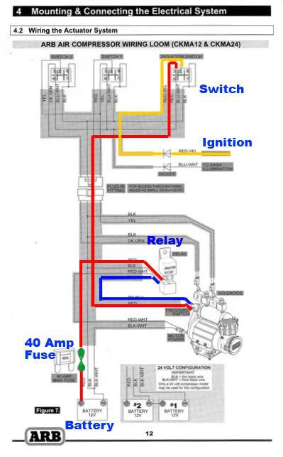 arb compressor wiring harness 29 wiring diagram images