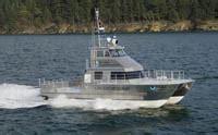 florida marine patrol boats twin hj403 waterjets