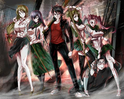 highschool of the dead 1 couvertures images et illustrations de highschool of the