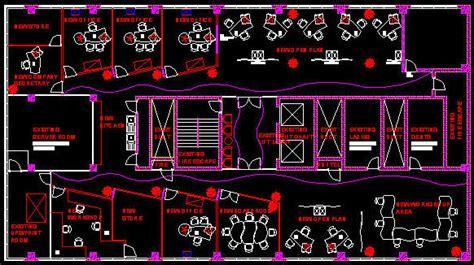 Create Classroom Floor Plan Cad Building Template 600sqm Office Floor Layout 1