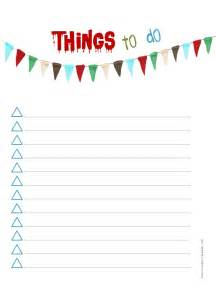 To Do Lists Templates by To Do List Template