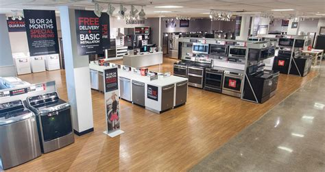 local appliance stores local jc penney unveils appliance showroom business