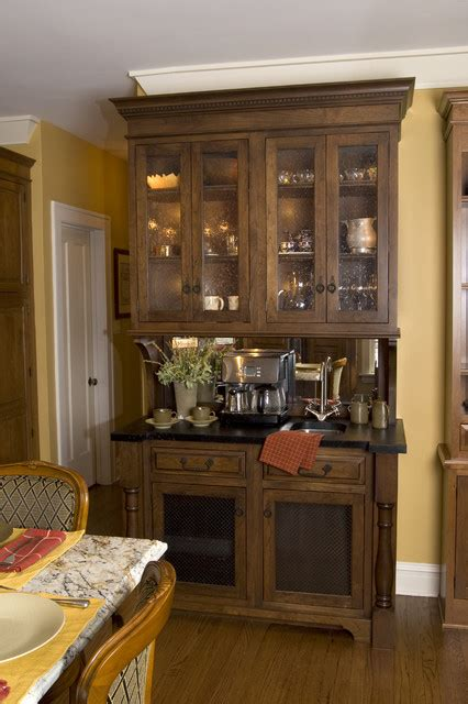 Coffee Hutch Coffee Hutch Traditional Kitchen Chicago By The
