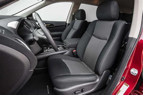 pathfinder nissan 2017 interior 2017 nissan pathfinder sv first test review motor trend