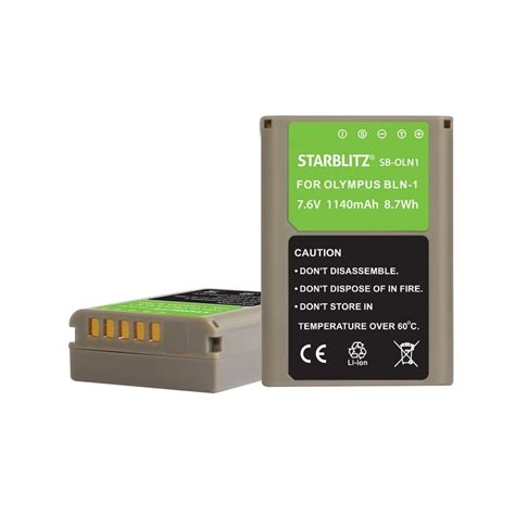 Battery Olympus Bln 1 trend batterie compatible olympus bln 1 batterie