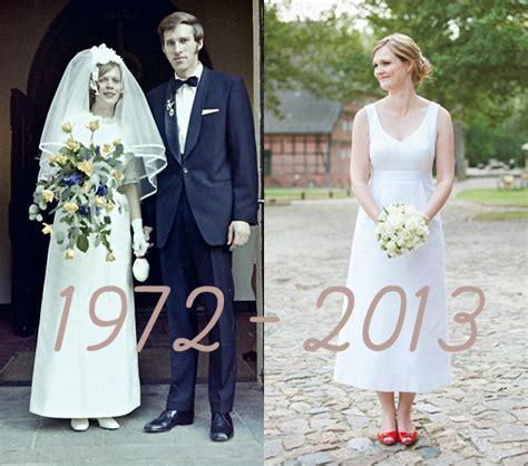 Brautkleider 90er Jahre by 70er Jahre Brautkleid Hochzeitsblog Lieschen Heiratet