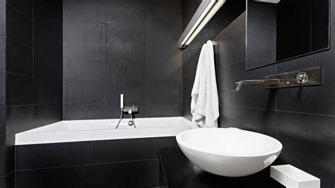 imagenes baños blanco y negro ideas para decorar el ba 241 o en color negro estilo