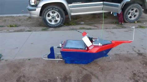 rc fishing boat videos remote control fishing boat finished product youtube