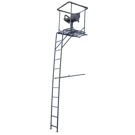marksman 15 360 degree swivel seat ladder tree stand