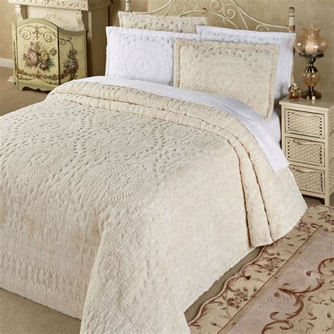 lightweight comforters rio lightweight cotton chenille bedspread bedding