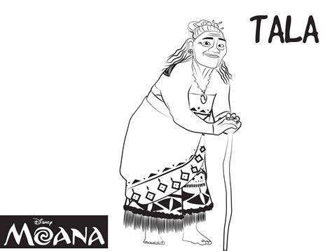 coloring pages moana free moana coloring pages