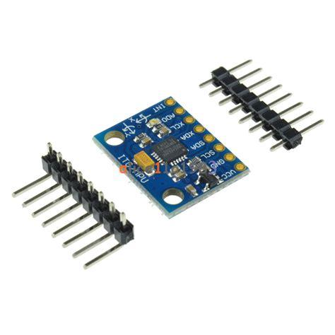 3 Axis Sensor Arduino by New Mpu 6050 Module 3 Axis Gyroscope Accelerometer Module
