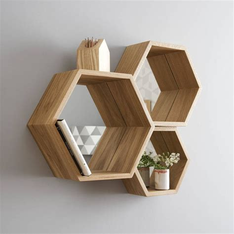 best 25 hexagon shelves ideas on honeycomb