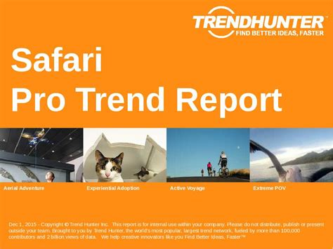 Safari Trend by Custom Safari Trend Report Custom Safari Market Research